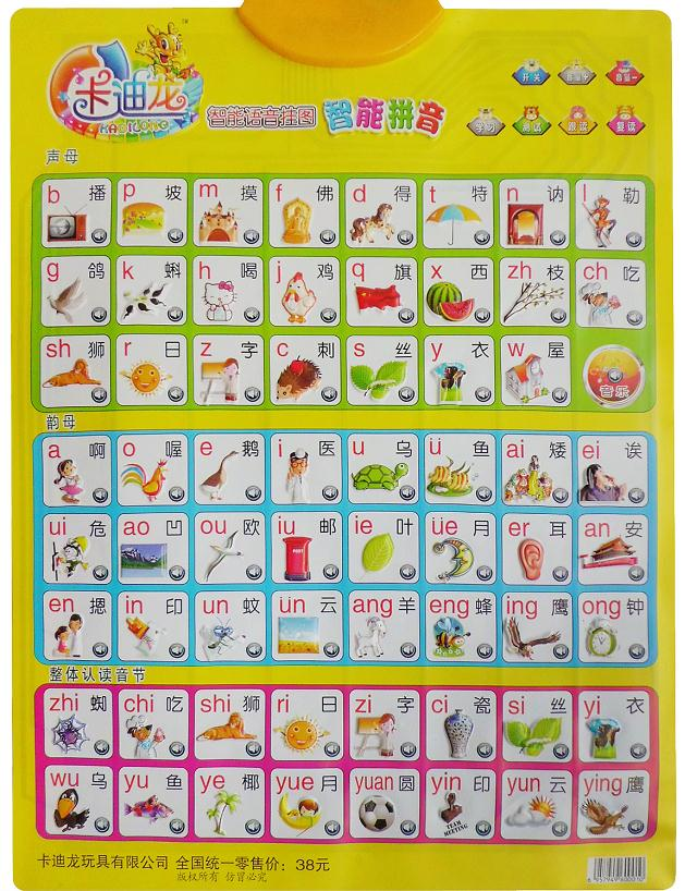 小学拼音字母表